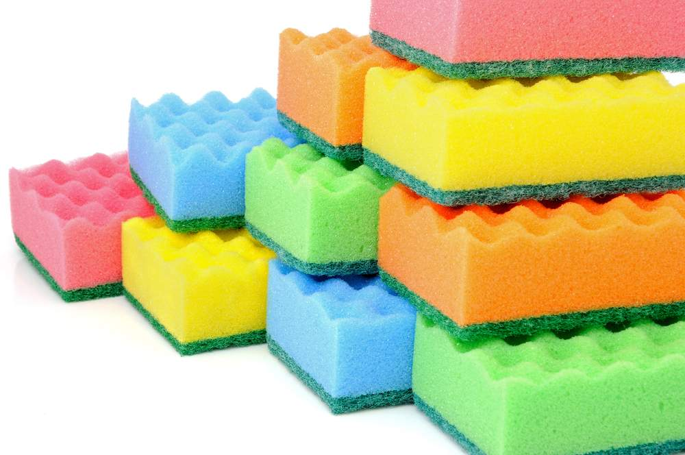 Поделки из губки для мытья посуды фото