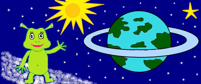 Снится Инопланетянин