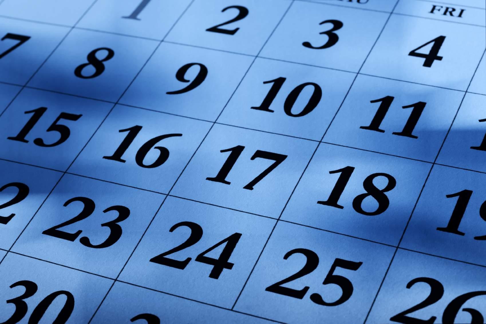 Снится Календарь