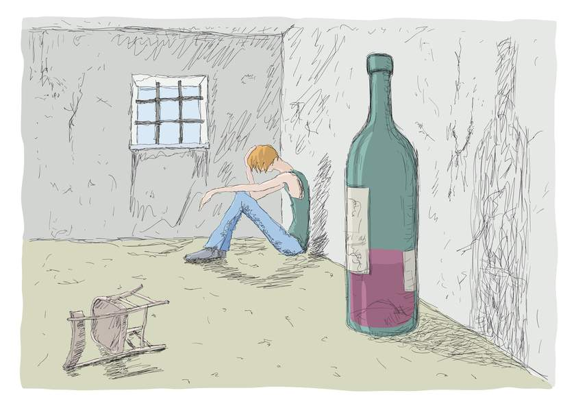 Снится Алкоголик
