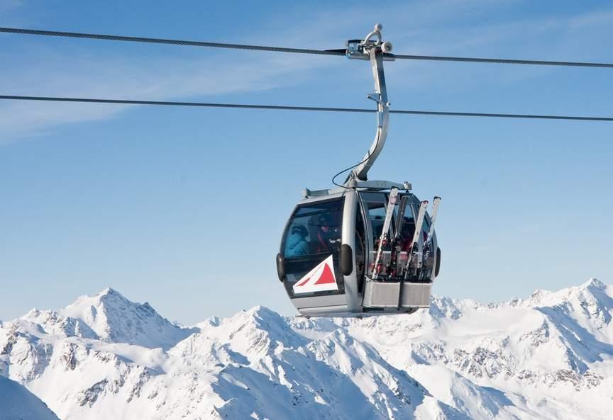 Подъемник для лыжников