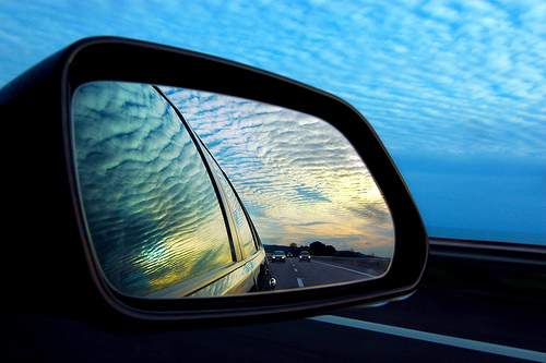 Зеркало заднего обзора