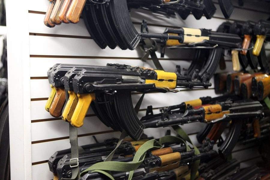 Снится Склад оружия