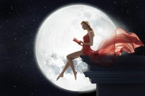 Ритуал соединения с Лунной энергией