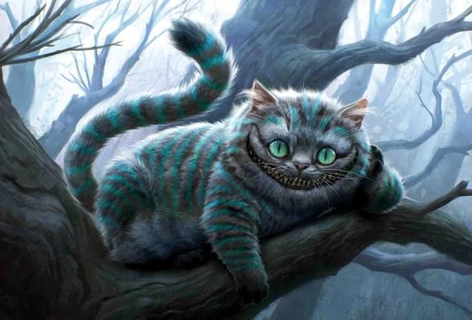 Снится Чеширский кот