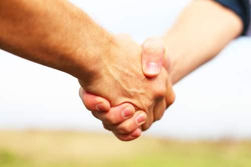 Снится Здороваться (за руку)