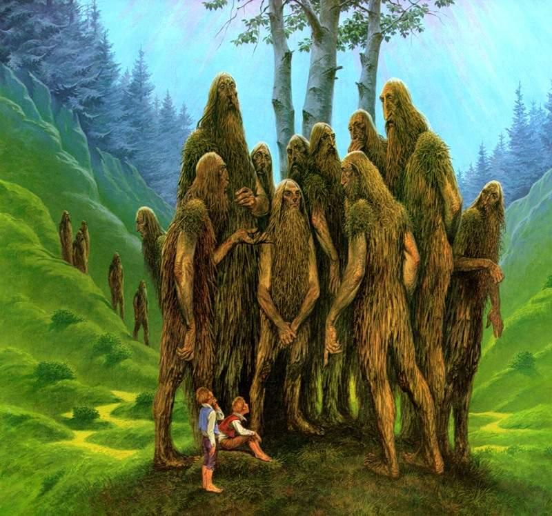 Лесные духи