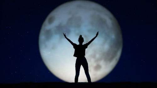 Луна большая и полная толкование сонника