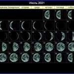 21599 Лунный календарь на 2021 год. Фазы Луны в 2021 году. Полнолуния и новолуния в 2021 году