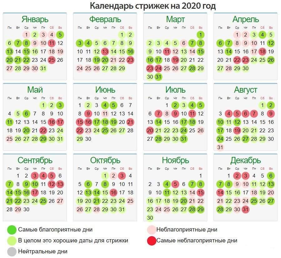 Лунный календарь стрижек на август 2021