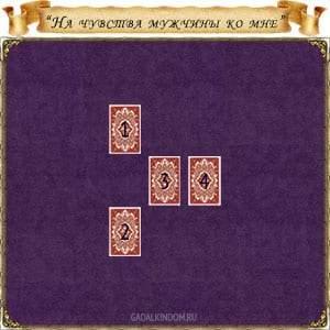 22140 Онлайн-гадание «На чувства мужчины ко мне» на колоде карт Таро