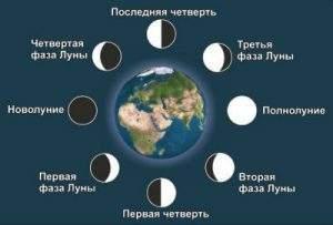 22225 Фазы Луны на 2022 год