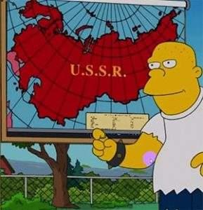 Симсоны - предсказание об СССР