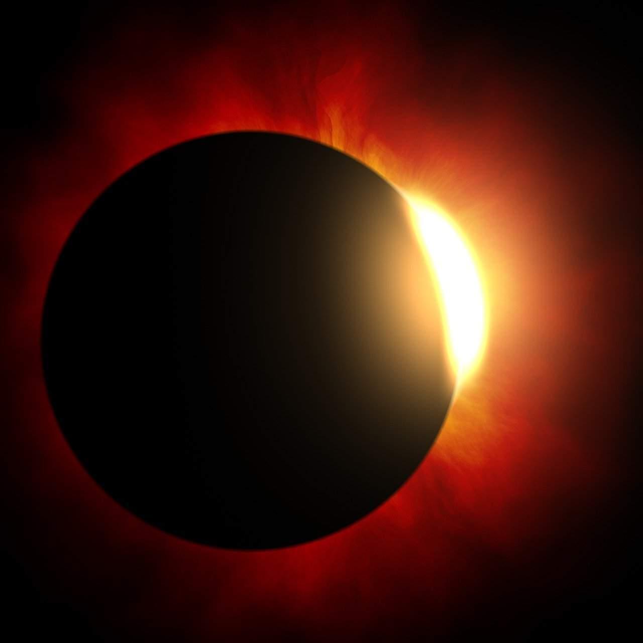 22229 Солнечные и лунные затмения в 2022 году