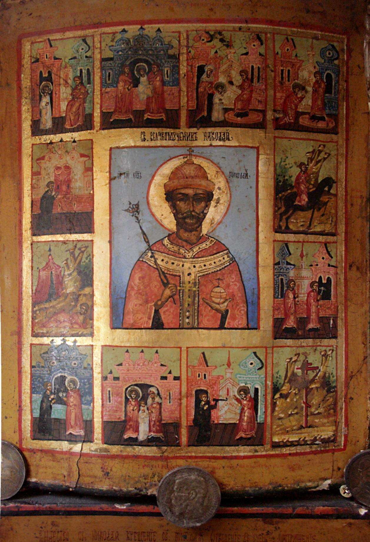 22385 Новый царь России явится в сентябре 2024 года: пророческие иконы монаха Авеля