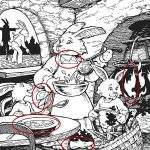 22381 Верный ответ на тест «Семья зайцев»
