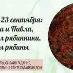 23013 Приметы и традиции 23 сентября: на день Петра и Павла или Именины рябины